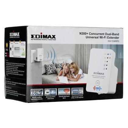 EDIMAX EW-7238RPD N300+ Universal WiFi Extender