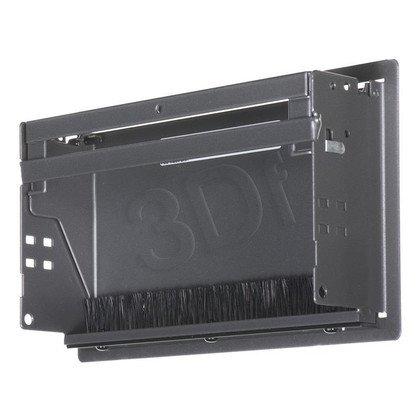 Bachmann 338.0204 CONI - kaseta do wbudowania antracyt krótka, wymiary zewnętrzne 248x151 mm, wymiary montażowe 237x139 mm