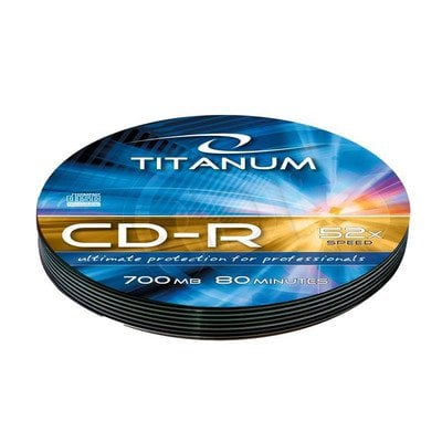 TITANUM CD-R 700MB/80min-Soft Pack 10 52X