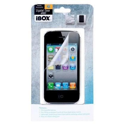 iBOX CRYSTAL PRZEŹROCZYSTY POKROWIEC iPhone 4&4S