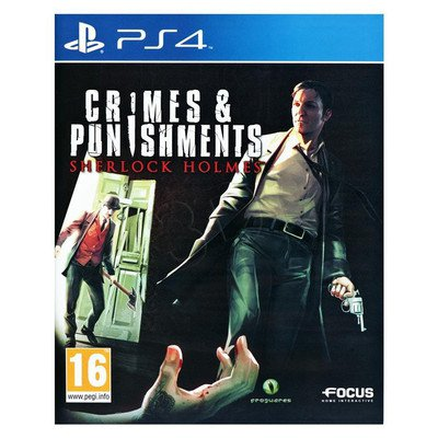Gra PS4 Sherlock Holmes Zbrodnia i kara