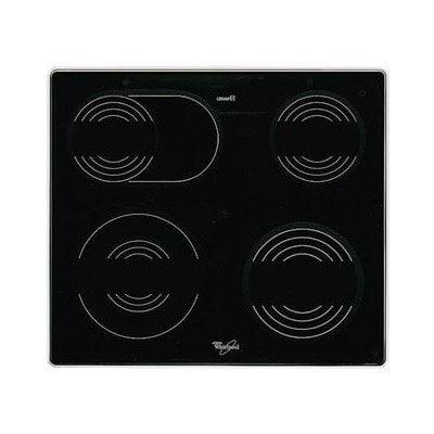 Płyta (szyba) vitroceramiczna bez grzałek Whirlpool (481944239158)