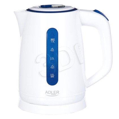 Czajnik elektryczny Adler AD 1234 (1,7l 2200W Biały)
