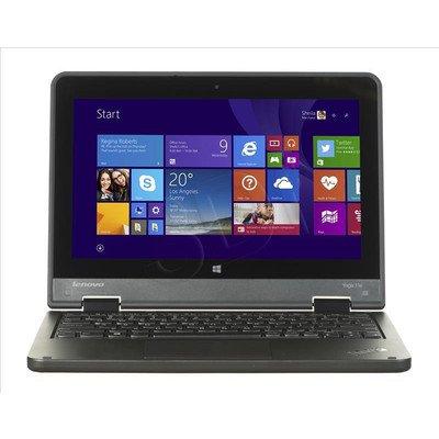 """LENOVO ThinkPad 11e M-5Y10C 4GB 11,6"""" HD 500GB HD5300 Win8.1P Czarny 20E7000BPB"""