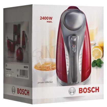 Czajnik elektryczny Bosch TWK6004N (1,7l 2400W Czerwony/jasnoszary)