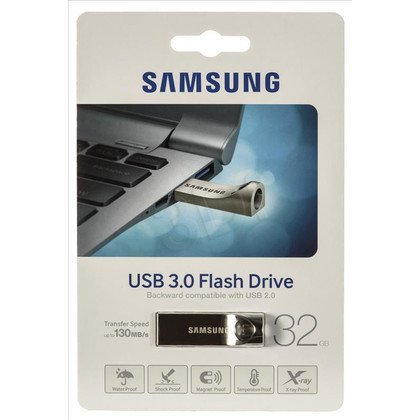 Samsung Flashdrive MUF-32BA/EU 32GB USB 3.0 Złoty