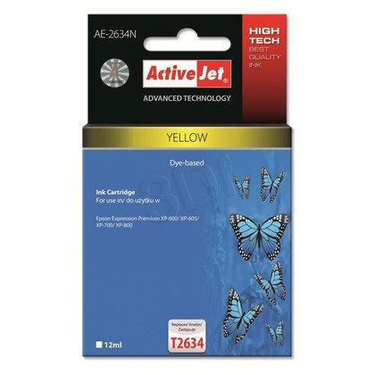 ActiveJet AE-2634N tusz yellow do drukarki Epson (zamiennik Epson T2634) Supreme