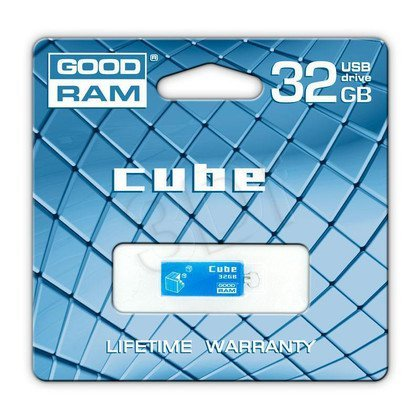 GOODRAM FLASHDRIVE 32GB USB 2.0 CUBE