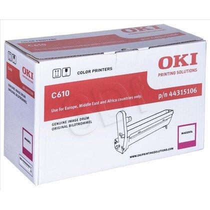 OKI Bęben Czerwony C610-EPM=44315106=C610, 20000 str.