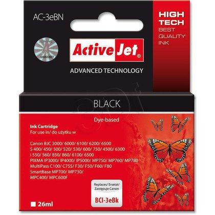 ActiveJet AC-3eBN (AC-3eBK) tusz czarny do drukarki Canon (zamiennik BCI-3eBK)
