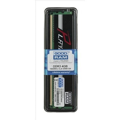 GOODRAM DDR3 PLAY 4GB PC1600 BLACK CL9 512x8