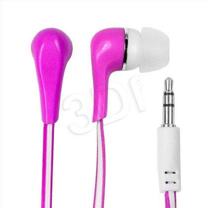 Słuchawki douszne Vakoss Msonic MH132EP (Różowo-biały)
