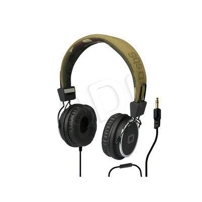 Słuchawki nauszne z mikrofonem SBS STUDIO MIX DJ (Kamuflaż)