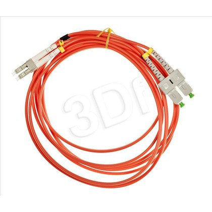 ExtraLink Fiber Optic Patchcord MM OM2 LC-SC DUPLEX 50/125 3.0M