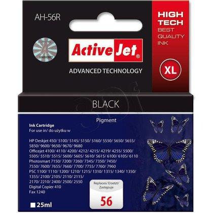 ActiveJet AH-56R (AH-656) tusz czarny do drukarki HP (zamiennik HP 56 C6656A)