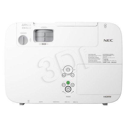 PROJEKTOR NEC P401W LCD WXGA 4000 ANSI 4000:1 HDMI USB LAN