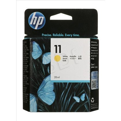 HP Tusz Żółty HP11Y=C4838A, 1700 str., 28 ml