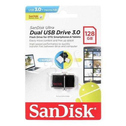 Sandisk Flashdrive Ultra Dual 128GB USB 3.0 czarny