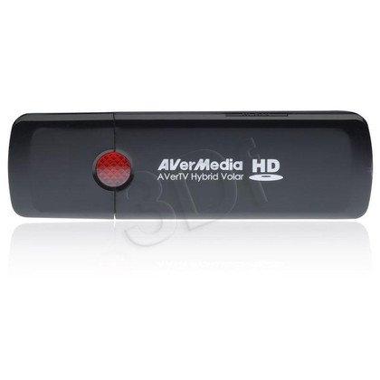 AVERMEDIA TUNER DVB-T, ANALOG USB AVERTV HYBRID VOLAR HD