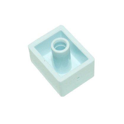 Przycisk biały pralki (C00255308)