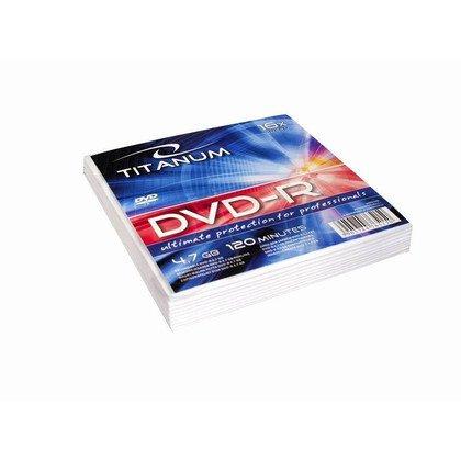 TITANUM DVD-R 4,7 GB x16 - Koperta 10