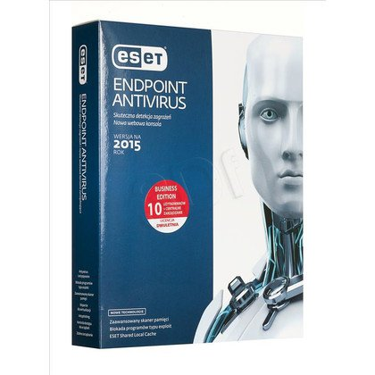 ESET Endpoint Antivirus - 10 STAN/24M