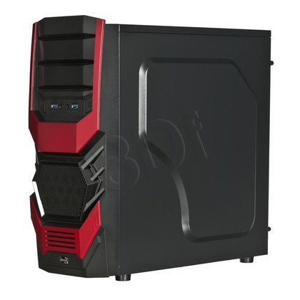 AEROCOOL CYCLOPS ADVANCE RED - USB3.0 - CZARNO-CZERWONA