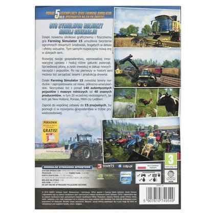 Gra PC Farming Simulator 2015
