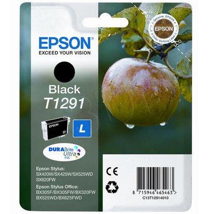 EPSON Tusz Czarny T1291=C13T12914011, 11.2 ml
