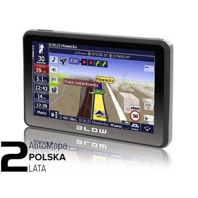 GPS580 SIROCCO 8GB BLOW + AUTOMAPA PL 2 LATA