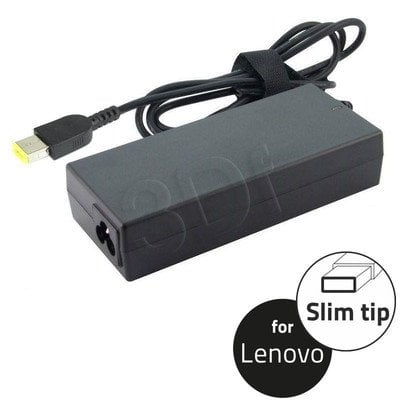QOLTEC ZASILACZ DO NOTEBOOKA LENOVO 20V 65W 3.25A, SLIM TIP