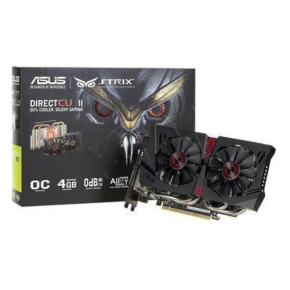 ASUS GeForce GTX 960 4096MB DDR5/128bit DVI/HDMI/DP PCI-E (1317/7010) (wer. OC - STRIX) (wentylator DirectCU II)