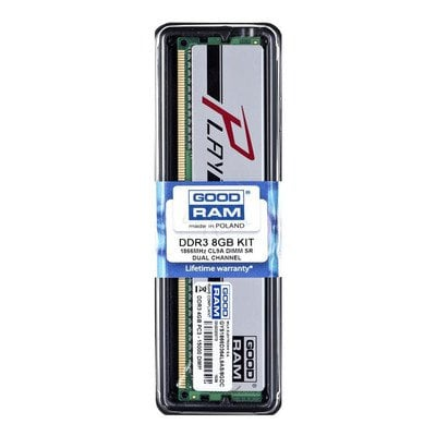 Goodram PLAY DDR3 DIMM 8GB 1866MT/s (2x4GB) Srebrny