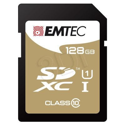 Emtec SDXC ECMSD128GXC10 128GB Class 10,UHS Class U1