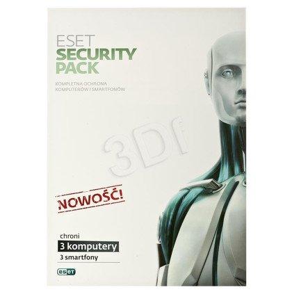 ESET SECURITY PACK -3STAN/12M+3 SMARTFONY/12M UPG