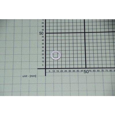Element maskujący przycisku zegara biały (8024202)