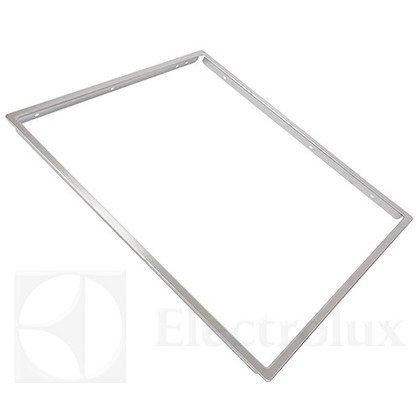 Dekoracyjne obramowanie płyty grzejnej z wysokiej jakości stali (3196108009)