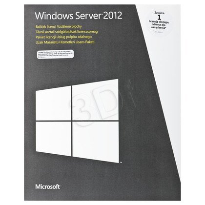 MS Win Remote Desktop Services CAL 2012 PL 1 Device CAL(BOX)