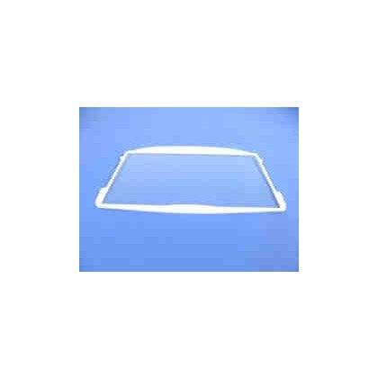 Półka szklana środkowa chłodziarki obtryskowa Whirlpool (481245088254)