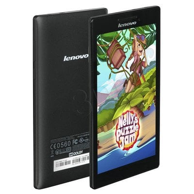"Lenovo TAB2 A7-10F MT8127 7"" HD 1GB 8GB WiFi Android 4.5 Black 59-446207"