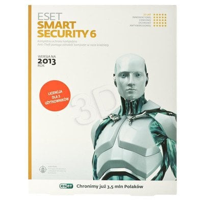 ESET SMART SECURITY BOX - 3 STAN/12M