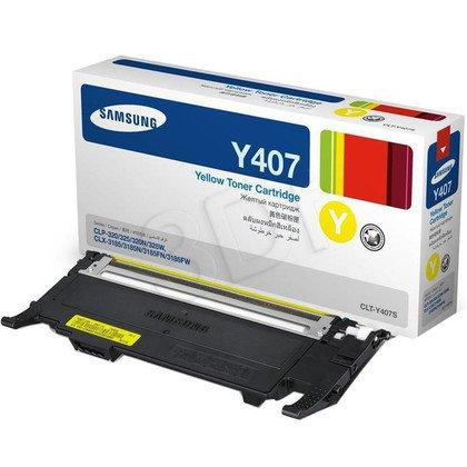 SAMSUNG Toner Żółty CLTY4072S=CLT-Y4072S, 1000 str.