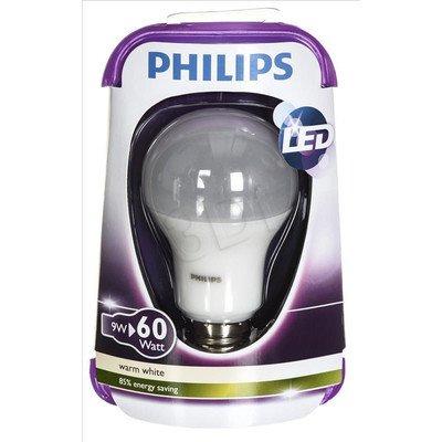 Philips żarówka LED 8718696490860 (tradycyjna żarówka 806lm 9W E27 ciepła biel)
