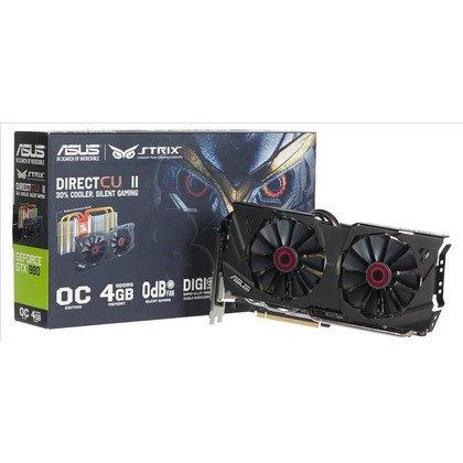 ASUS GeForce GTX 980 4096MB DDR5/256bit DVI/HDMI/DP PCI-E (1279/7010) (wer. OC - STRIX) (wentylator DirectCU II)