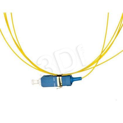 ALANTEC pigtail LSOH 2m Pigtail SM 1J 9/125 wtyk SC żółty