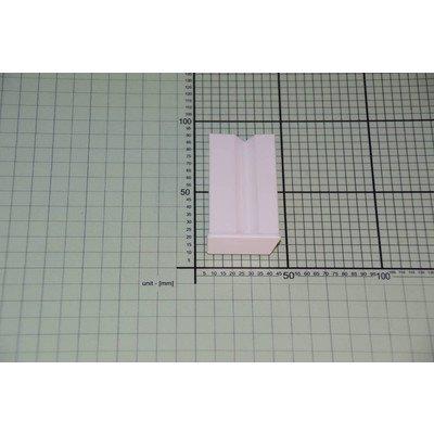 Narożnik czoła szuflady lewy biały (1032604)
