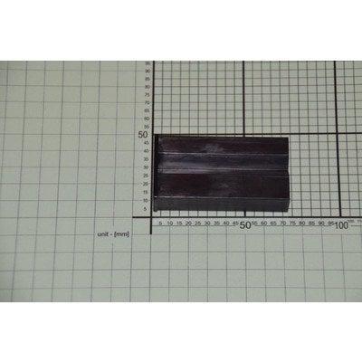 Narożnik czoła szuflady lewy czarny (1036515)
