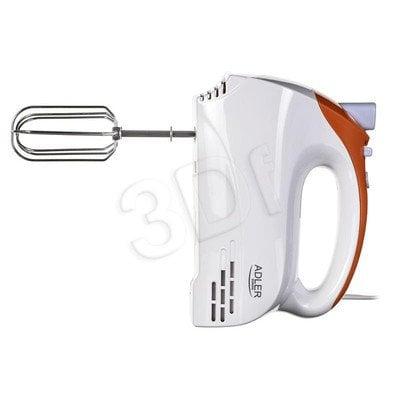 Mikser ręczny Adler ADLER AD 4201 o (300W/biało-pomarańczowy)