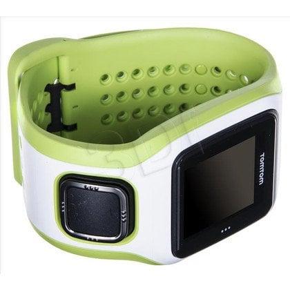 Tomtom Zegarek sportowy Runner Cardio biały/zielony