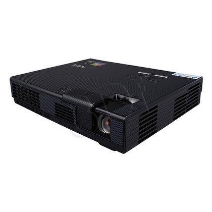 PROJEKTOR NEC L102W LED WXGA 1000 ANSI 10000:1 HDMI USB CZYTNIK KART SD 1GB PAMIECI WEWNĘTRZNEJ